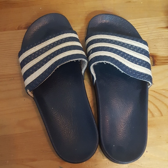 Adidas zapatos Vintage diapositivas poshmark